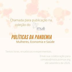 Chamada para Publicação – Políticas da Pandemia