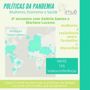 4º Políticas da Pandemia: Mulheres, Economia e Saúde